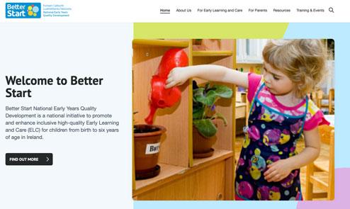 Better Start have a new website